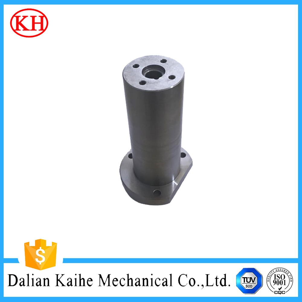 white anodizing internal threaded aluminum tube