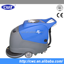 ultra quiet design hand push floor sweeper