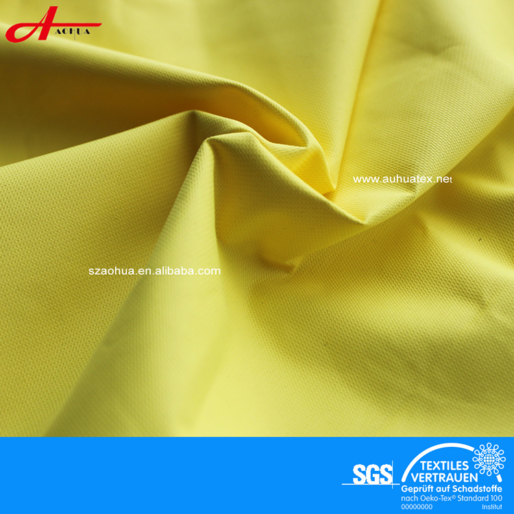 Ski Wear Jacket Fabric In 100% Polyester Waterproof Pongee