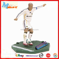 PVC Material famous player version soccer action figures