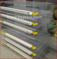Professional Galvanized High Quality Metal Layer Quail Breeding Cages With New Design Save Space