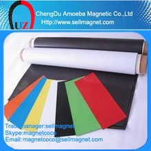 Rubber Magnet with Vinyl