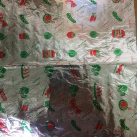 fast food packaging foil sheets with laminated paper / aluminum foil paper