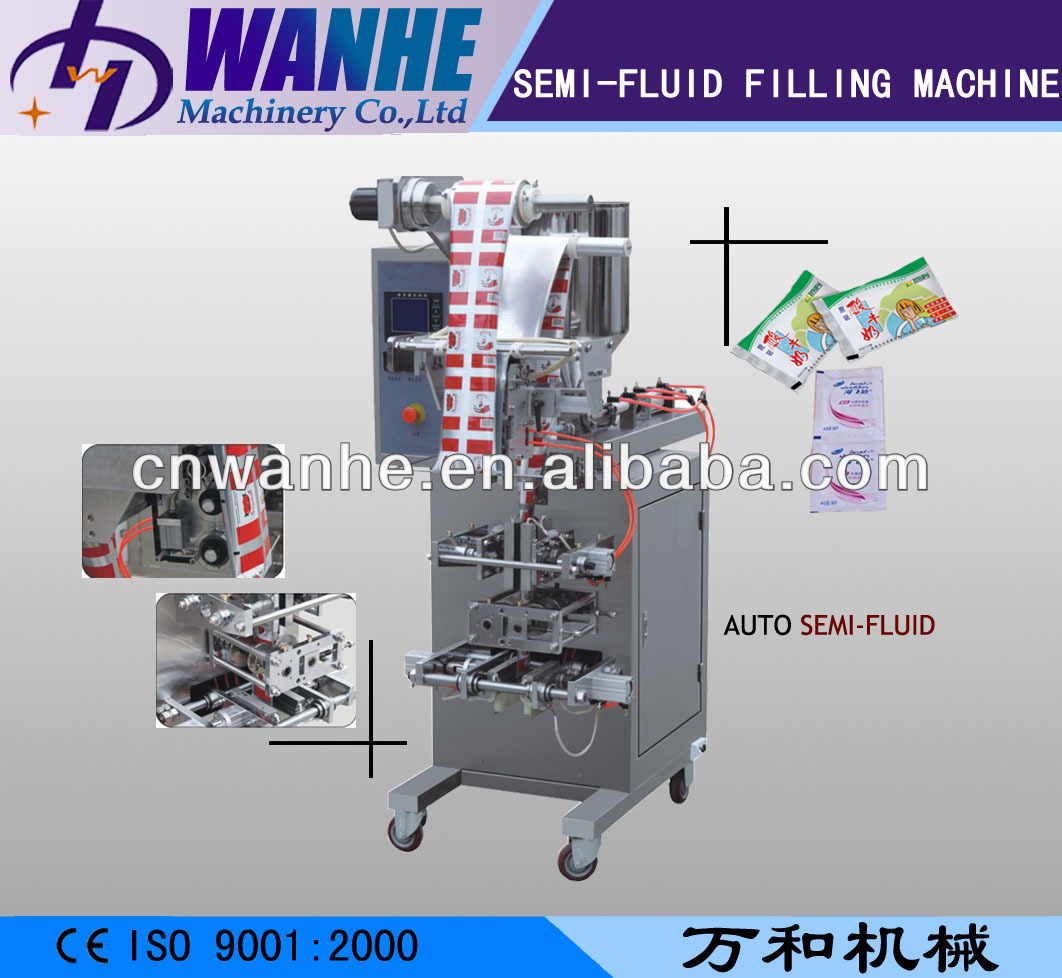 WHIII-S100 Hot Sauce/ Tomato Sauce/ Hot Fruit Jam Fill Seal Machine
