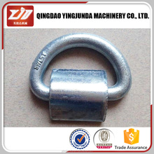 best rigging hardware galvanized d ring drop forged d ring with strap metal d ring seller