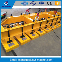 European professional special material handling needs required in precision flame laser cutting lifting magnet