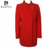 Elegant fitted russian female women ladies winter long jackets and coats clothes clothing