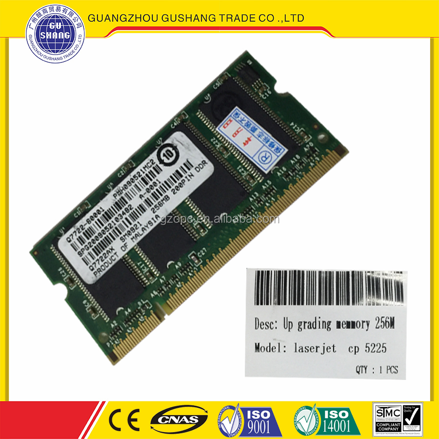 Accepted paypal good warranty for HP cp 5225 UP grading memory 256M Guangzhou