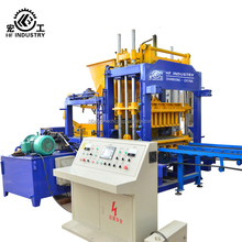 Price list of concrete block machine QT5-15 automatic hydraulic hollow block making machine production line