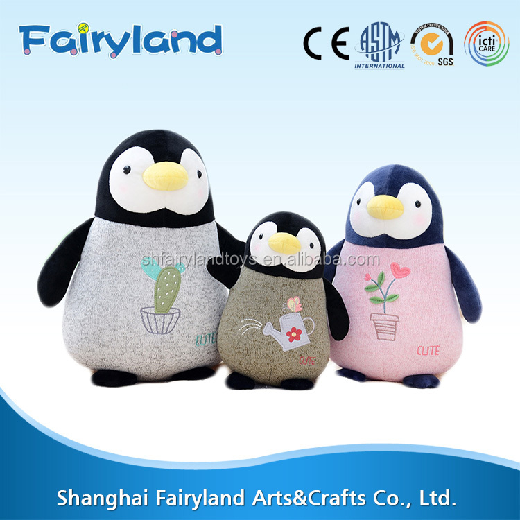 Plush Penguin toys with creative design stuffed toys plush and stuffed penguin toys