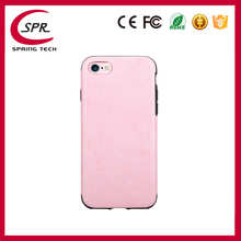 drop proof case mobile phone soft case crazy horse line pink color case for iphone 7 iphone 7 plus
