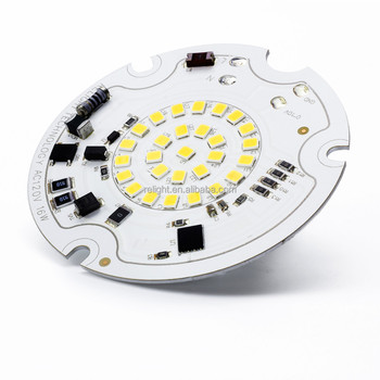 AC Round SMD Led Module 3528 , Mini Size,with High Efficiency 2700-6000K