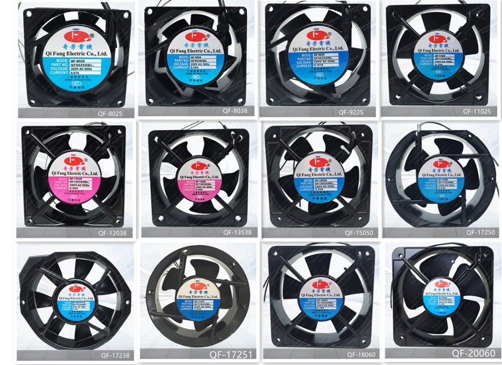 90mm ball bearing small water air cooling fan 92*92*25mm air cooling fan for cabinets