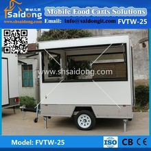 Big windows food van manufacturer/mini mobile food carts/used food carts for sale