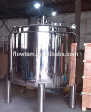 stainless steel jam mixing tank with top agitator