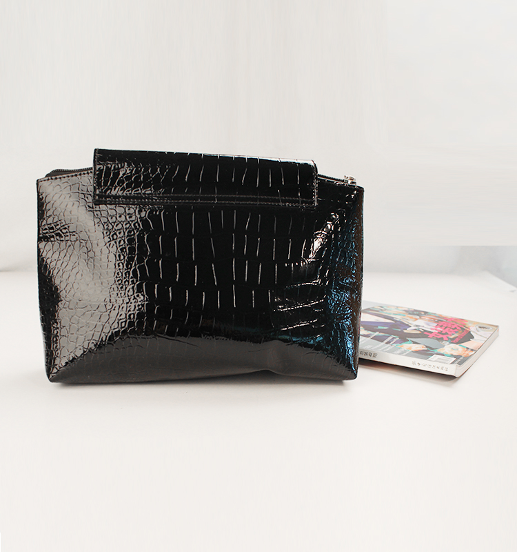 Hot New Bright Stone Pattern PU Leather Clutch Bag For Women