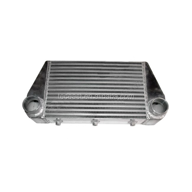 Universal Turbo V-Mount Intercooler 21.5x10x3.25 For FD3S RX7
