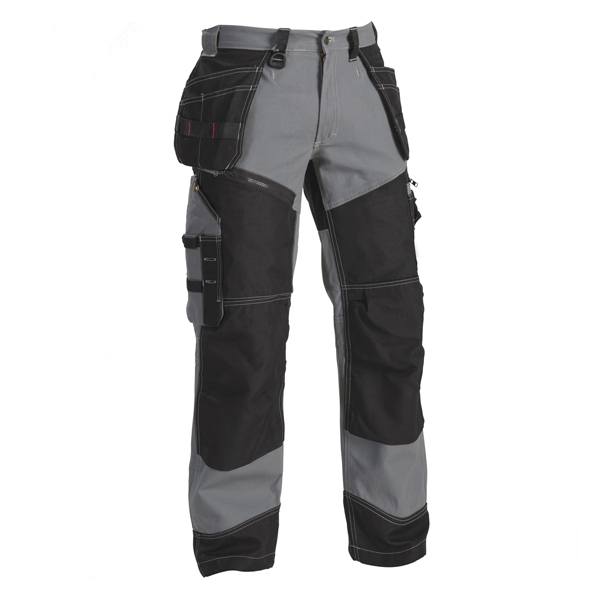 Customized European Style Men Work Cargo Pants With Knee Pad Pockets