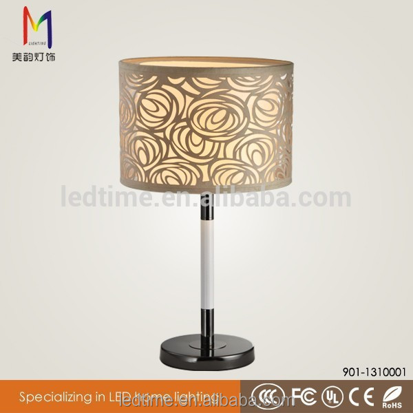 Plastic led restaurant table lamp made in China