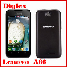 3.5 inch wholesale Lenovo A66 Android 2.3 MTK6575 GPS WiFi 3G WCDMA 2MP Unlocked android Phone 256MB 512MB