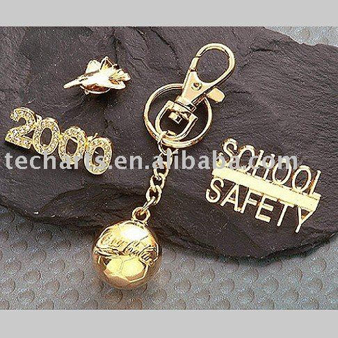 ALBB-0009 Zinc alloy metal pins, badges or keychains 3d pin art