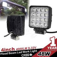 48w led work light for 12v offroad auto lighting