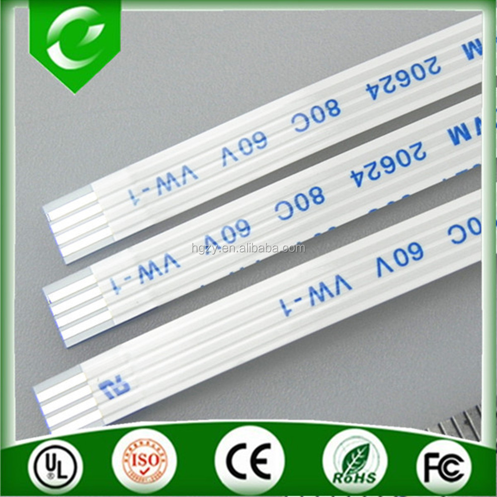 Hot sale 1.0mm 4pin 150mm length type B flat FFC cable