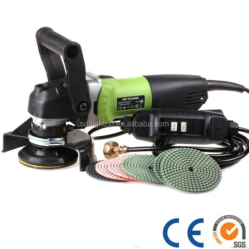 Hand Held Angle Burnished Stone Stainless Steel Polisher