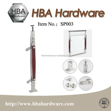 Balcony Stainless Steel Railing Post Handrail Post Window Baluster