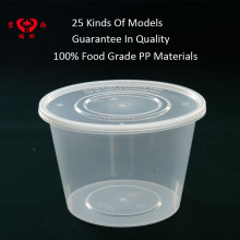 Food grade PP material plastic food container with lid