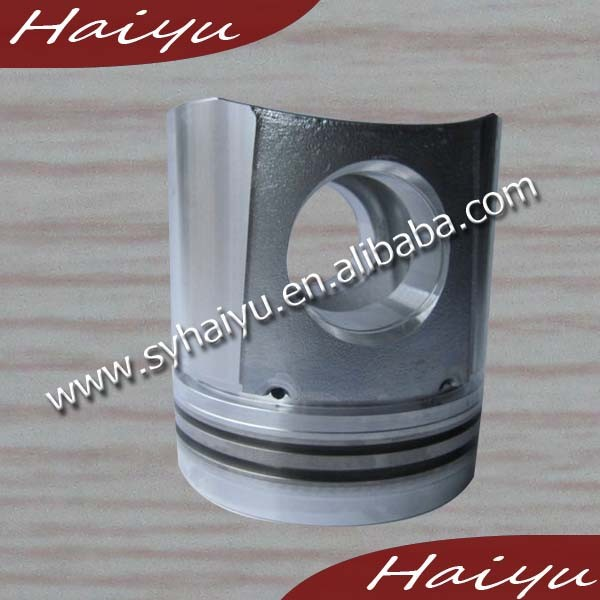 good and best seller engineering & construction machinery spare parts 3802474 6BT engine silver piston