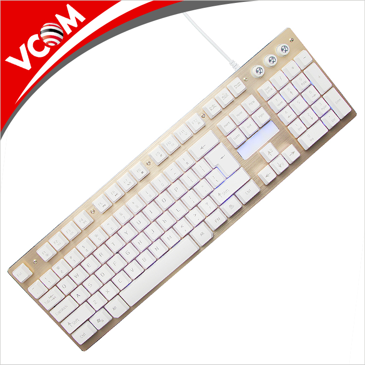 Wholesale professional Laptop Wired Gaming Keyboard Led USB Mechanical Keyboard
