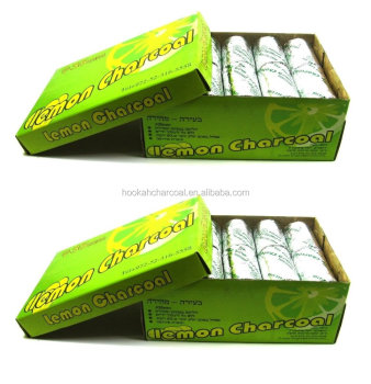 QUICK - LIGHTING LEMON HOOKAH CHARCOAL TABLETS 35MM FOR SHISHA SMOKING