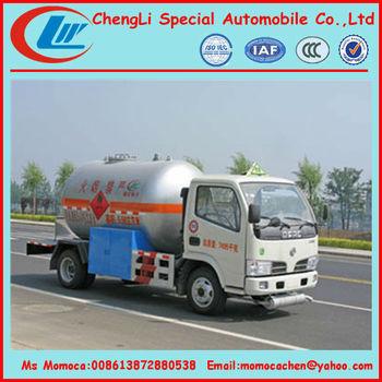 Mini Lpg Road Tanker Truck Propane Gas Truck 5.5cbm On ...