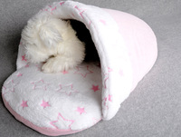 wholesale cave dog bed, sleeping bag for pet dog, soft material pet dog sleeping bag