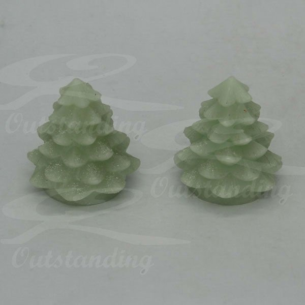 Christmas Design Tree Shape Electric LED Candle For Home Decoration