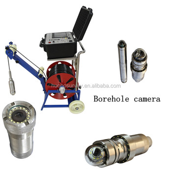GYGD-II CCTV deep well Inspection 360 degree rotary borehole Camera Deep Well Camera