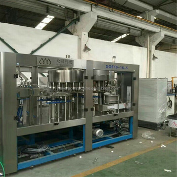 new model automatic bottled pure/mineral drinking water filling equipment