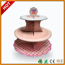 crystal acrylic wedding cake display stand ,corrugated store display stand for bread and cakes
