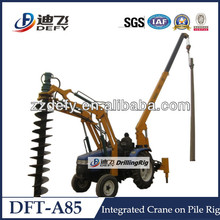 6m depth Hydraulic Tractor Post Hole Digger for sale