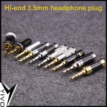 GuangZhou YIVO OEM Wholesales Hi-end Audio Video diy earphone jack plug