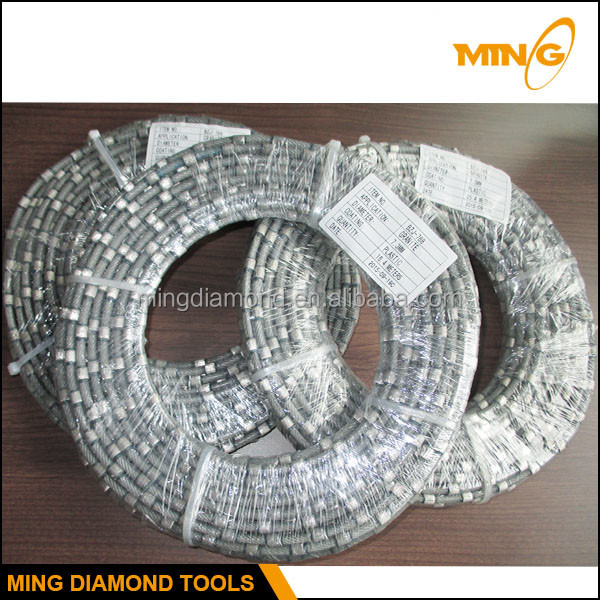 Imported Galvanized Steel Wire Rope And Plastic For Manufacturing Quality Diamond Wire Saw