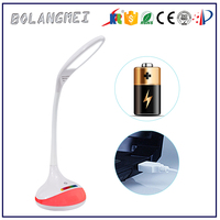 rechargeble touch led desk lamp usb with can conect computer