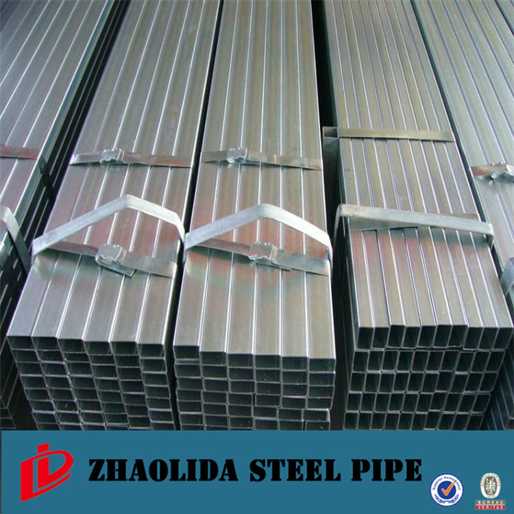erw square tube ! glavanized retabgular pipe galvanized square steel pipe/tube import china products