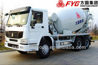 sino chassis 9CBM concrete mixer truck for sale