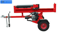 Vertical and horizontal log Splitter 22/26T with 6.5/9 HP gasoline engine, 3 models