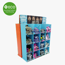 Clothing Cardboard Pallet Display Promotion For Supermarkets