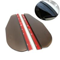 New 1 Pair Universal Car Truck Rear View Side Mirror Sun Visor Shade Rain Board Shield