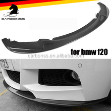 Front Splitter for BMW 1 series F20 135I M Sport 2012-2015 Carbon Fiber Front Lip