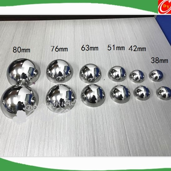 Chrome Steel Ball with Hole
